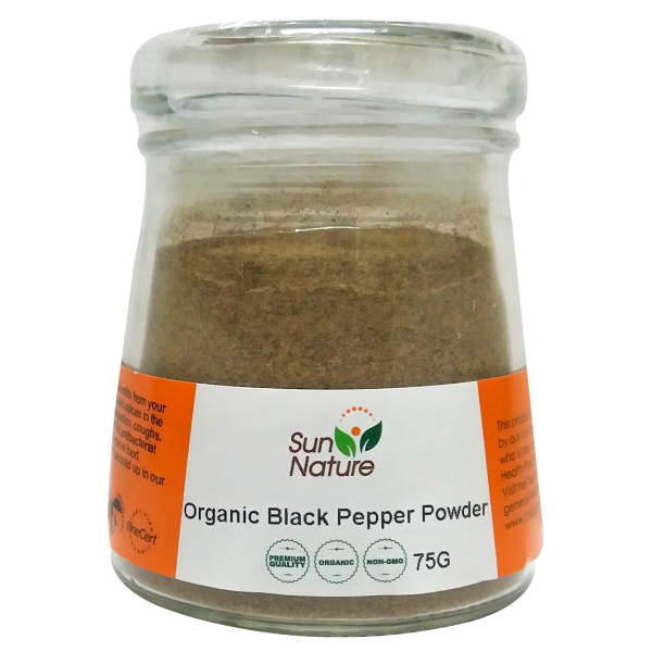 Sun Nature Oragnic Black Pepper Powder