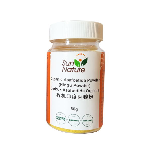 Sun Nature Organic Asafoetida Powder