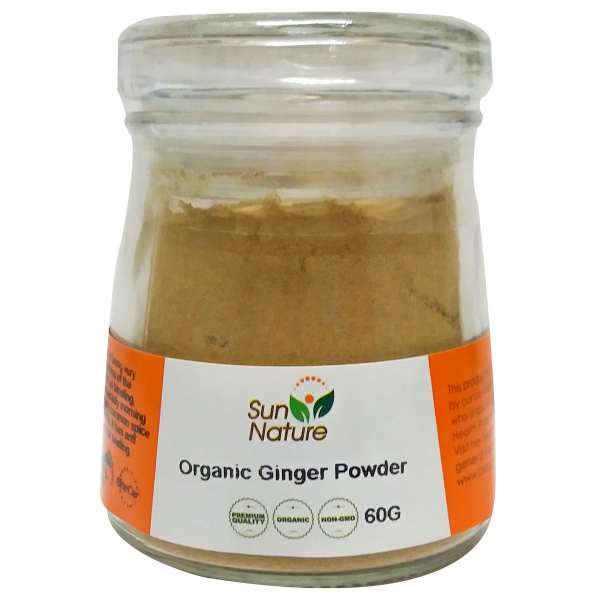 Sun Nature Organic Ginger Powder